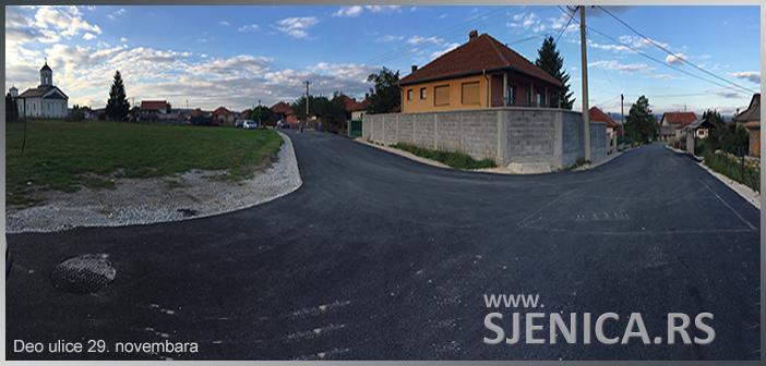 Asfaltiranje novih ulica u Sjenici