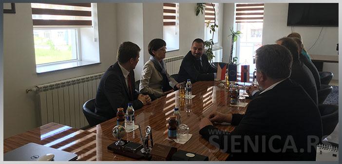 Ambasadorka Republike Češke u poseti Sjenici