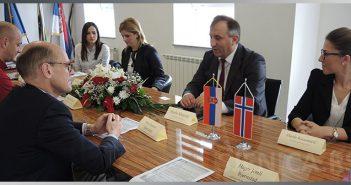 Norveški ambasador u poseti Sjenici (FOTO) (VIDEO)