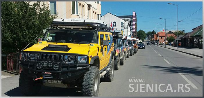 Balkan reli tour iz Češke i Slovačke u poseti Sjenici