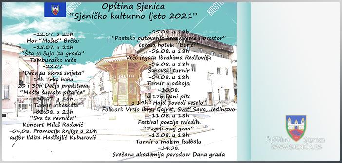 Sjeničko kulturno ljeto 2021
