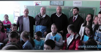 Donacija za školu u Barama (VIDEO)