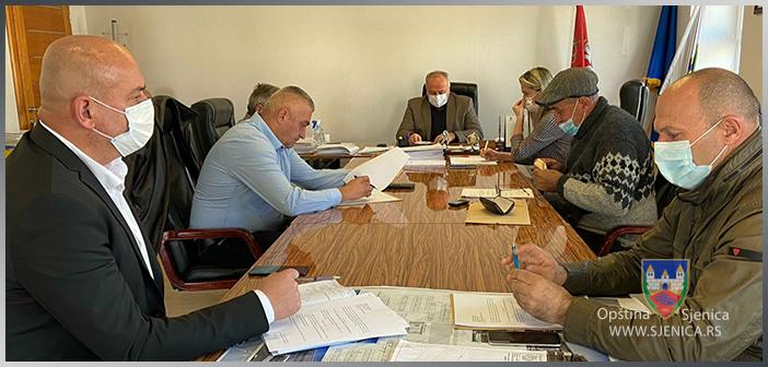 Formiran Štab za vanredne situacije opštine Sjenica (FOTO)