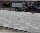 Popločavanje pješačke zone u Sjenici