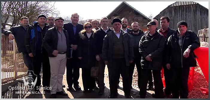 Mehanizacija i za sjeničke poljoprivrednike (VIDEO)