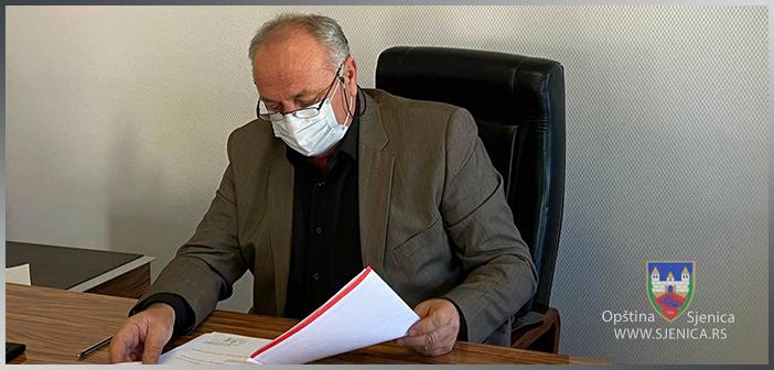 Saopštenje za javnost predsjednika opštine Sjenica