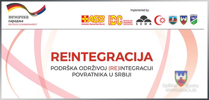 Re!ntegracija: Drugi javni poziv  za izbor korisnika za ekonomsku podršku