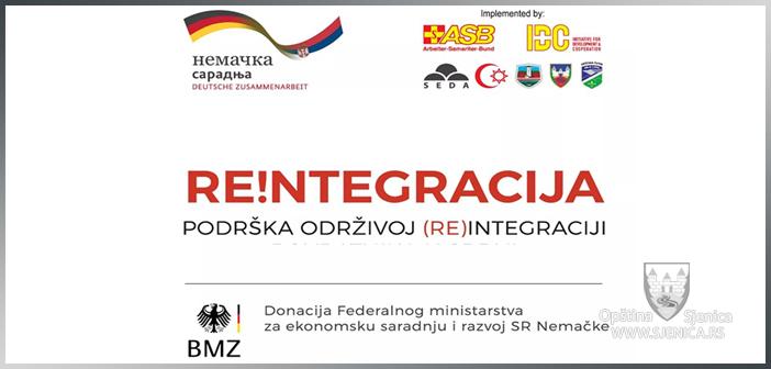 """Komisija za odabir korisnika projekta """"Re!ntegracija – podrška održivoj (re)integraciji povratnika u Srbiji"""", raspisuje"""