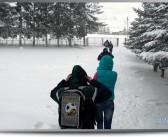 Novi snijeg u Sjenici, putevi u blokadi